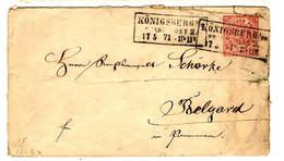 53016 - Entier  Pour BELGARD En ROUMANIE - Norddeutscher Postbezirk