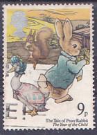 Tp De 1979 - Dessin De B. Potter, Du Livre; Tale Of Peter Rabbit - 9p - Y&T N° 896 - Obli - Used - Usato - Used Stamps