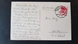 Kitzbuhel - Sent To Wiltz Luxembourg 1936 - Gebruikt