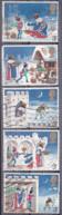 Tp De 1971 - Noël - Christmas - Le Bon Roi Wenceslas, Le Page Et Le Paysan - 5 Tp  Y&T N° 702/06 - Obli - Used - Usato - Used Stamps