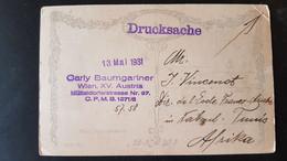Wien - Sent To Ecole Franco-Arabe Nabeul Tunisia 1931 - Gebruikt