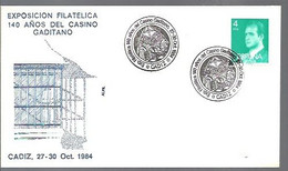 MATSELLOS  1984 CADIZ - 1981-90 Storia Postale