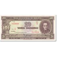 Billet, Bolivie, 20 Bolivianos, 1945, 1945-12-20, KM:140a, NEUF - Bolivia