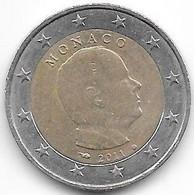 Monaco : 2 Euros 2011. - Monaco