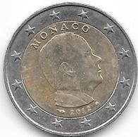 Monaco : 2 Euros 2012. - Monaco