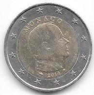 Monaco : 2 Euros 2014. - Monaco