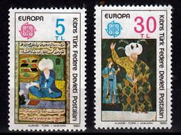 Cyprus(Turkije)   Europa Cept 1980 Postfris - Unused Stamps