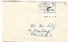 Allemagne - République Démocratique - Lettre De 1964 - Oblit Lückenwalde - Jeux Olympiques - - Briefe U. Dokumente