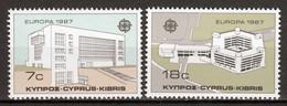 Cyprus  Europa Cept 1987 Postfris - Unused Stamps