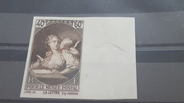 LOT558008 TIMBRE DE FRANCE NEUF** LUXE NON DENTELE N°446 VALEUR 270 EUROS - Imperforates