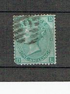 10% DE LA COTE GRANDE BRETAGNE YVERT 37  SG117  PLANCHE 4 DL LD - Used Stamps