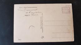 Wien - Stempel T.C.V.  Stamps Over Frankatur Ruckseite - Gebruikt