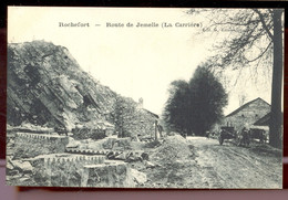 Cpa Rochefort   Attelage Carrière - Yvoir