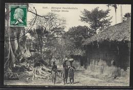 Carte P De 1924 ( Gabon / Village Diola ) - Gabun
