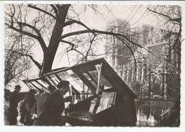 PARIS.  Les Bouquinistes Du Quai Montebello.  (scan Verso) - Le Anse Della Senna