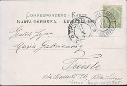 BOSNA & H. - MOSTAR - K.u.K. BAHNPOST I  SARAJEVO-BOS.BROD 2  - 1903 - RARE - Briefe U. Dokumente