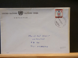 95/623 LETTRE UNPROFOR 1993 U.N. - Croatia
