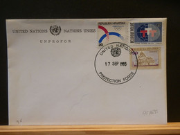 95/625 LETTRE UNPROFOR 1993 U.N. - Croatia