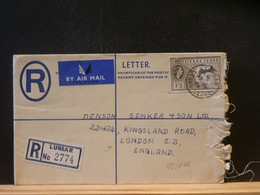 95/642  REGISTRED LETTER   1956 - Sierra Leone (...-1960)