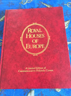 """"""" ROYAL HOUSES OF EUROPE """"  A LIMITED EDITION - RAINIER - BAUDOIN - KING OLAV - QUEEN ELISABETH II - JUAN CARLOS.... - Collections"""