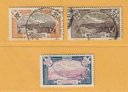 Timbre Martinique N° 96 - 99 - 102 - Gebraucht