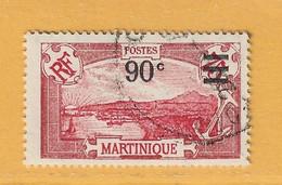 Timbre Martinique N° 114 - Gebraucht