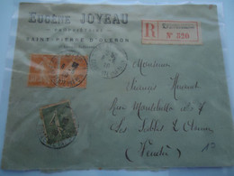 FRANCE COVER  REGISTERED    1920 - Unclassified