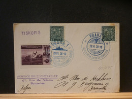 95/645 CP CESKOSL. 1938 AVC VIGNETTE - Covers & Documents