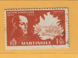 Timbre Martinique N° 208 - Gebraucht