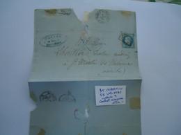 FRANCE COVER   1888  SAN MARTN DE VALMAS - Unclassified
