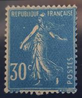 D - FRANCE - 1925 Semeuse Fond Plein N° 192 Type IIC * (Cote 275.00 €) TB - Unused Stamps