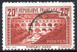 YT 262 B - PONT DU GARD OBLITERE - COTE 450 € - Used Stamps