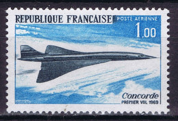 France 1969 Aviation, First Flight Of The Concorde - Unclassified