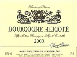 Etiquette Vin De BOURGOGNE (2) - Bourgogne