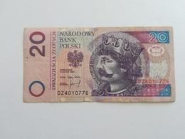 POLONIA 20 ZLOTYCH 1994 - Pologne