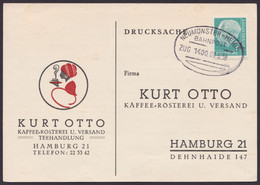 """Neumünster-Heide"", Bahnpost, Bedarfs-Drucksache, 1958 - Briefe U. Dokumente"