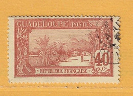 Timbre Guadeloupe N° 65 - Used Stamps