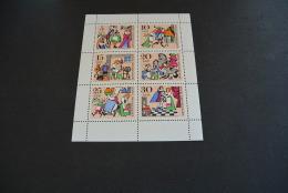 M824- Bloc MNh GDR DDR 1967 KING DROSSELBART FAIRY TALE SC# 973a - Konig Drosselbart - Fiabe, Racconti Popolari & Leggende