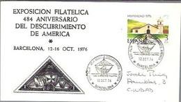 MATASELLOS  1976   TEMA COLON - 1971-80 Storia Postale