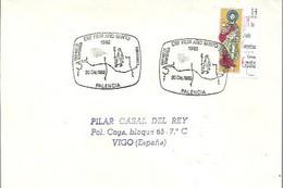 MATASELLOS  1982  PALENCIA  AÑO SANTO - 1981-90 Storia Postale