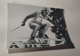 SPORT SKI FRANZ KLAMMER AUTRICHIEN KITZBUEHL VERITABLE PHOTO PHOTOGRAPHIE DE PRESSE - Sport