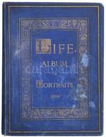 1888 A Life Agazin Híres Személyeket ábrázoló Képtáblái, Mellékletei. 35 Db Fénnyomat, Egészvászon, Borítóval. Koszos. 3 - Gravuren
