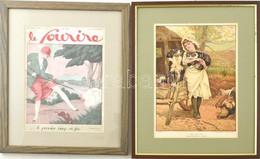2 Db Metszet/nyomat: Edward Killingworth Johnson (1825-1896) Festménye Után: Rivals (riválisok), 1880-1900 Körül. Litogr - Gravuren