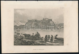 Cca 1850 Esztergom / Gran In Ungarn, Acélmetszet, Hildburghausen, Kunstanstalt Des Bibliographisches Institut, 11×15 Cm - Gravuren