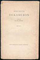 18 Db Boccaccio Illusztráció: François Boucher, Charles Eisen és Hubert François Gravelot Rézmetszeteivel és Könyvdíszei - Gravuren