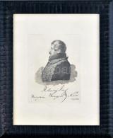Lütgendorf-Leinburg, Ferdinand Von (1785-1858): Rohontzy János (1775-1842), Veszprém Vármegye Országgyűlési Követjének P - Gravuren