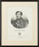 Cca 1840 Gróf Károlyi György (1802.-1877) Főispán, Királyi Magyar Királyi Főudvarmester Mellképe (Magyar Pantheon). Lito - Gravuren