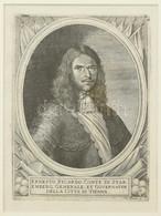 Cca 1700 Ernesto Ricardo Conte Di Staremberg, Ernst Rüdiger Von Starhemberg (1638-1701) Tábornok, Az 1683-as Török Ostro - Gravuren