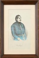 Cca 1850 Wesselényi Miklós (1796-1850) Portréja. Színes Litográfia, Papír. Jelzett A Litográfián (olvashatatlan). Armani - Gravuren