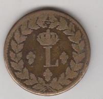 LOUIS XVIII UN DECIME. 1815. - D. 10 Centimes
